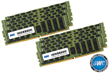 384GB (12 x 32GB) PC21300 2666 MHz RDIMM for Mac Pro 2019 /2020 8-Core