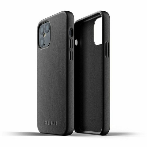 Mujjo Full Leather Case | iPhone 12 / 12 Pro