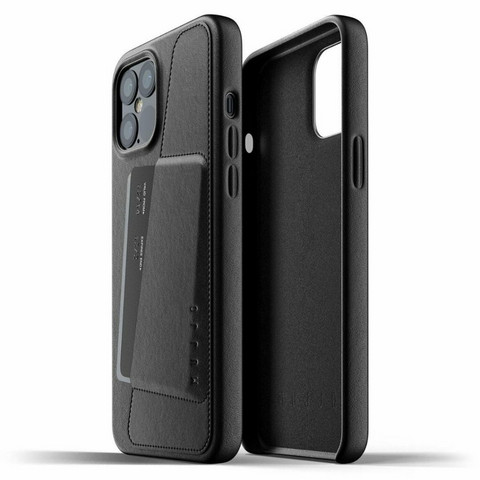 Mujjo Full Leather Wallet Case | iPhone 12 Pro Max