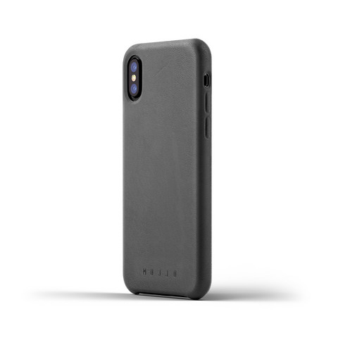 Mujjo Leather Case   iPhone X/XS