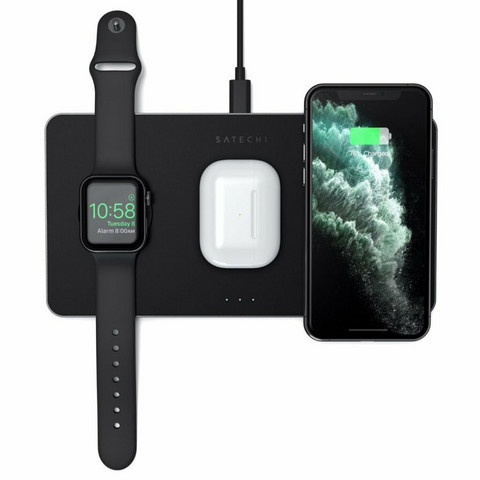 Satechi Trio Wireless Charging Pad - Convenient charging for all your devices