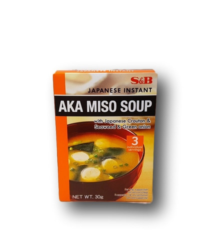 Japanese Instant Aka Miso Soup