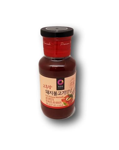 Korealainen Bulgogi BBQ-kastike sianlihalle
