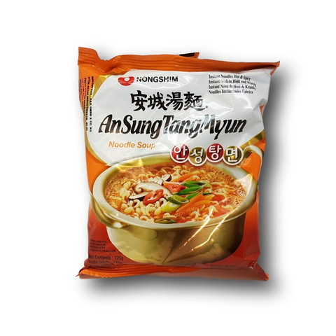 Instant Noodle AnSungTangMyun Ramyun
