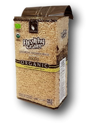 Organic Brown Jasmine Rice 1 kg