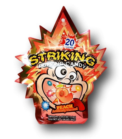 Shocking Popping candy Peach