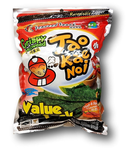 Japanese Crispy Seaweed Hot & Spicy 59 g