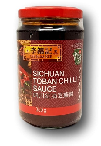 Sichuan chili-papu kastike