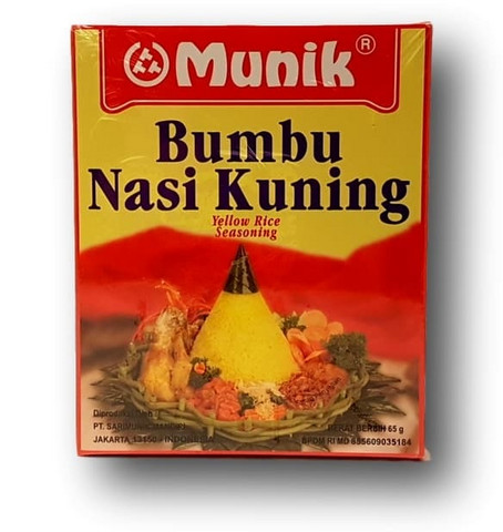 Boemboe Nasi Kuning Paste Yellow Rice Seasoning