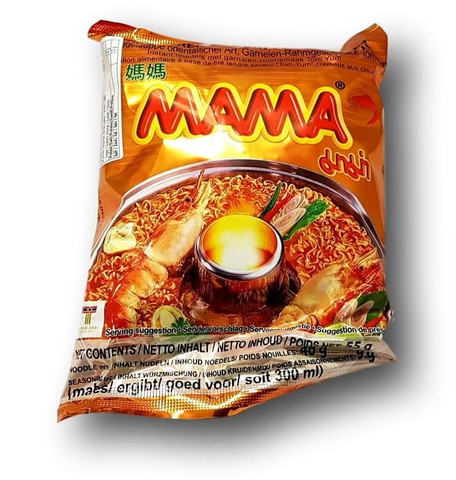Creamy Tom Yum Flavor Shrimp Noodle