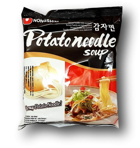 Instant Noodle Potato Ramyun