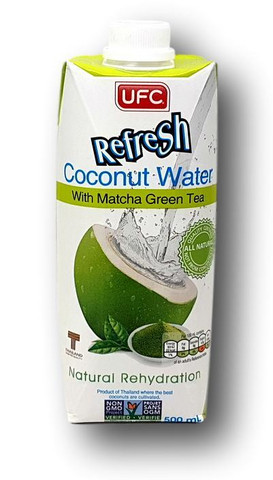 Coconut Water with Matcha