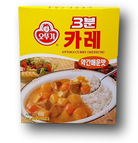 3-min Instant Curry Medium