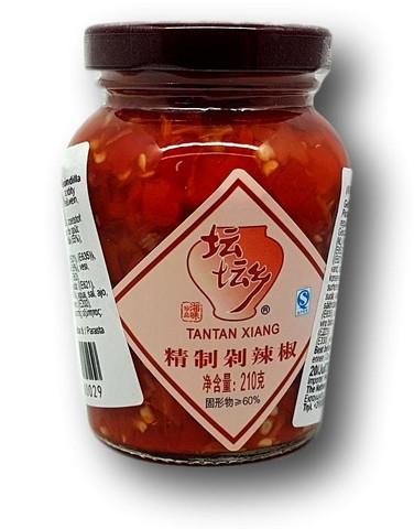 Säilötty punainen chili