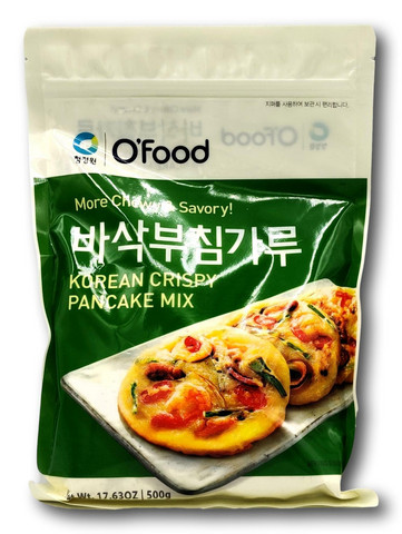 Korealainen pannukakku jauhe