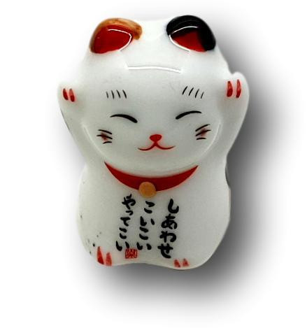 Ceramic Chopstick Holder Cat