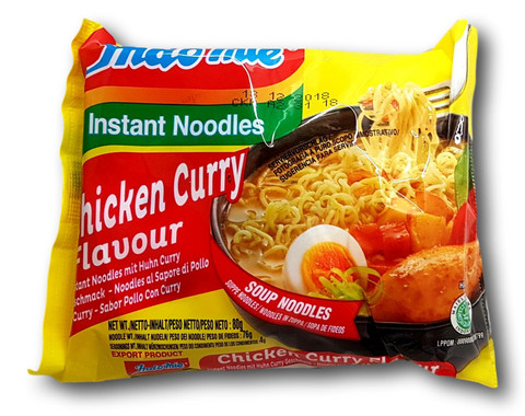 Instant Noodle Chicken Curry