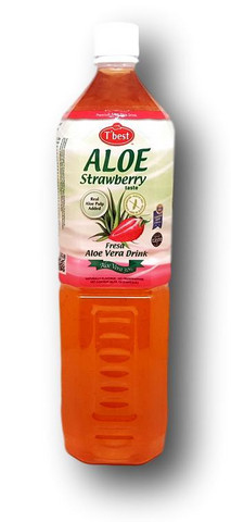Aloe Vera Drink Strawberry 1.5 l