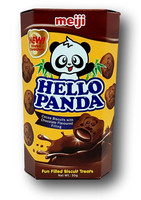 Hello Panda Cocoa Chocolate Biscuit
