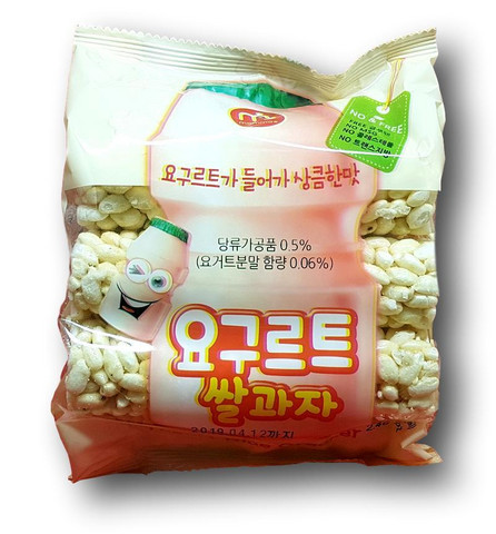 Rice Cracker Yoghurt