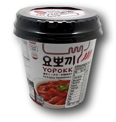 Korean Spicy Rice Cake - Yopokki