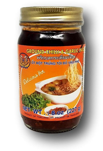 Ground Chili Garlic Oil 227 g