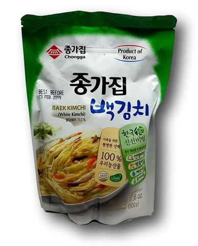 Säilötty kaali (Baek Kimchi) 500g
