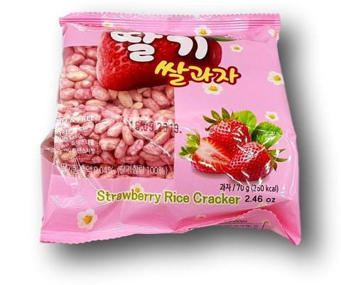 Rice Cracker Strawberry