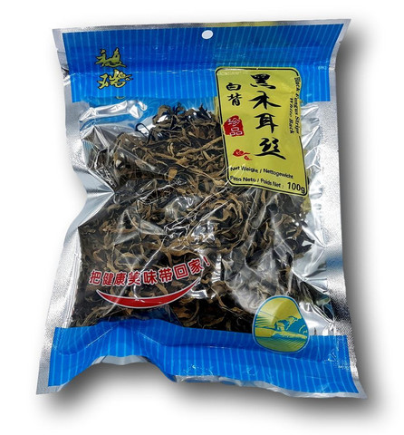 Dried Black Fungus Strips