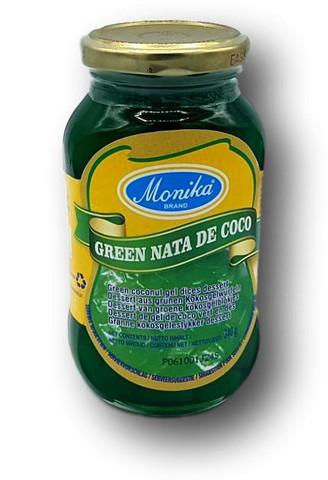 Kookosgeeli kuutiot vihreä