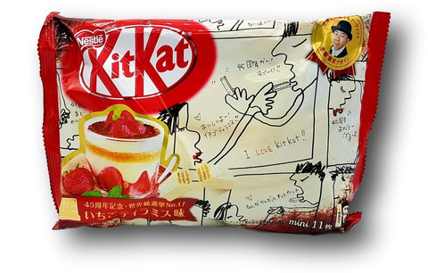 KitKat Mini Strawberry Tiramisu Snack