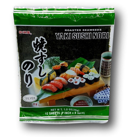 Yaki Nori Sushi Roasted Seaweed 10 sheets