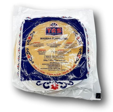 Intialainen papadum leipä
