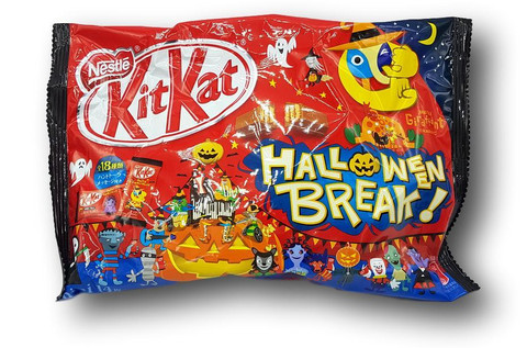 Kit Kat Chocolate Haloween Edition