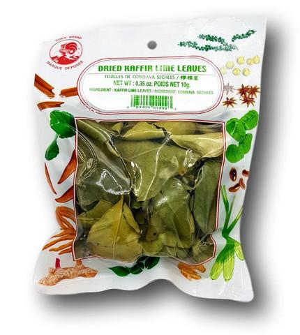 Dired Kaffir Lime Leaf