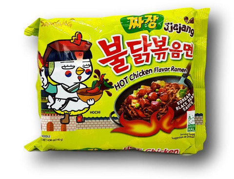 Samyang Hot Chicken Ramen Jjajang