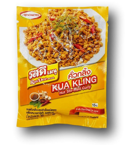 Kua Kling Tulinen curry jauhe