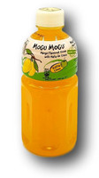 Mango flavored drink with Nata de coco