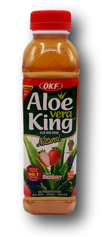 Aloe Vera juoma mansikka
