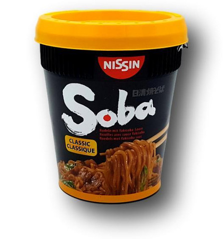 Classic Soba Instant Cup Noodle
