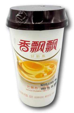Milk Tea Mango Pudding