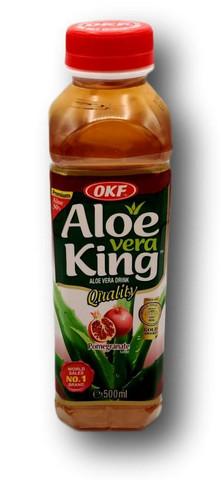 Aloe vera juoma granaattiomena