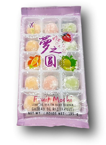 Assorted Fruit Mochi