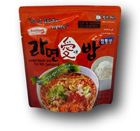 Instant Noodle And Rice Jjamppong