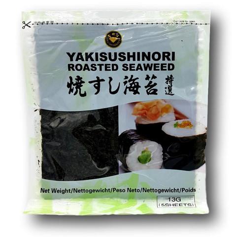 Paahdettu merilevä Yaki Sushi Nori