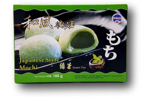 Japanese Style Mochi (Green Tea)