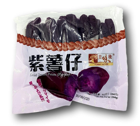 Dried Sweet Potato (Purple)