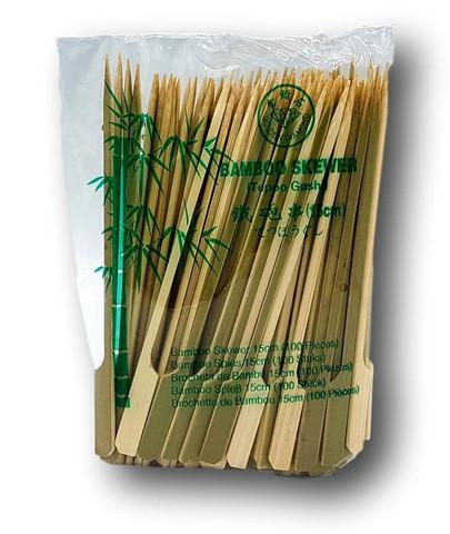 Bambuinen paistotikku