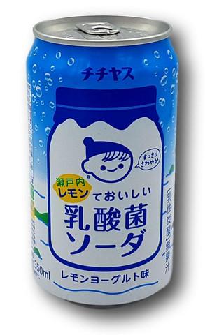 Chichiyasu Lemon Milky Soda