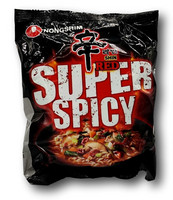Shin Red Super Spicy Instant Noodles 120g